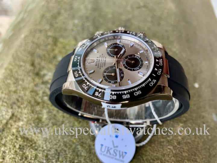 ROLEX DAYTONA 18CT WHITE GOLD – 116519LN - NEW