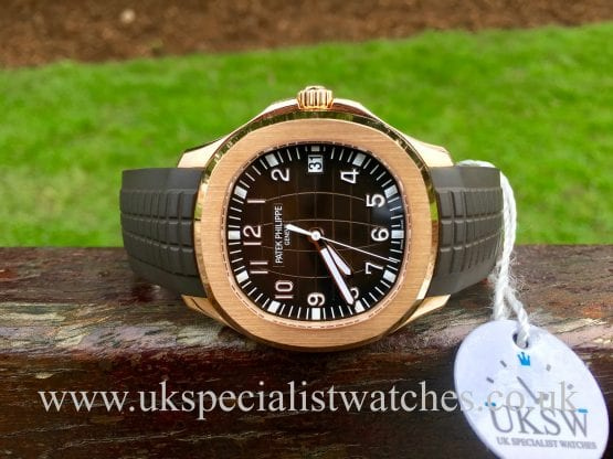 PATEK PHILIPPE AQUANAUT – 18CT ROSE GOLD – 5167R-001
