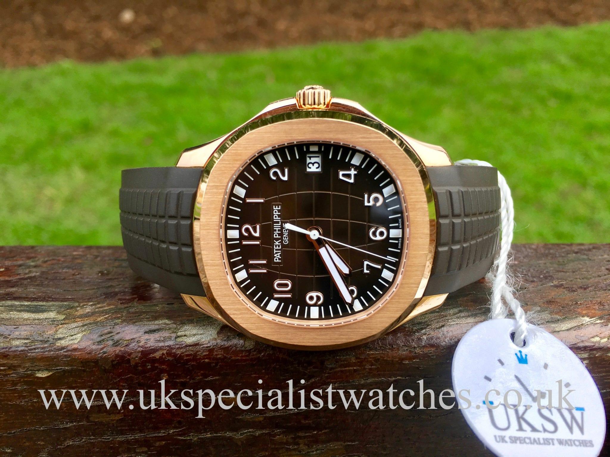 Patek Philippe Aquanaut 18ct Rose Gold 5167r 001 Uk Specialist