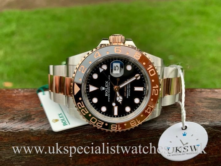 ROLEX GMT-MASTER II - ROOT-BEER - 126711CHNR