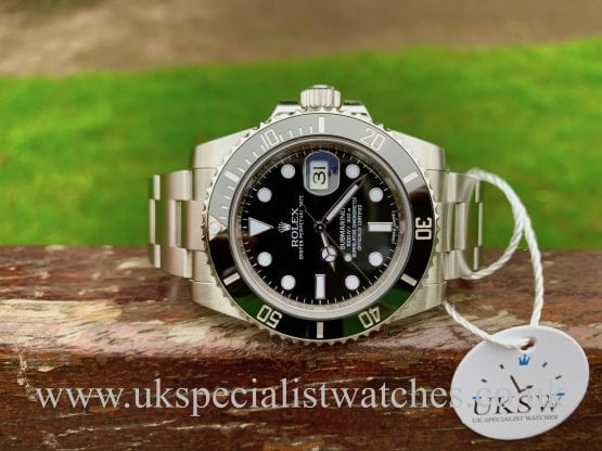 ROLEX SUBMARINER DATE CERAMIC BEZEL – 116610LN - FULL SET