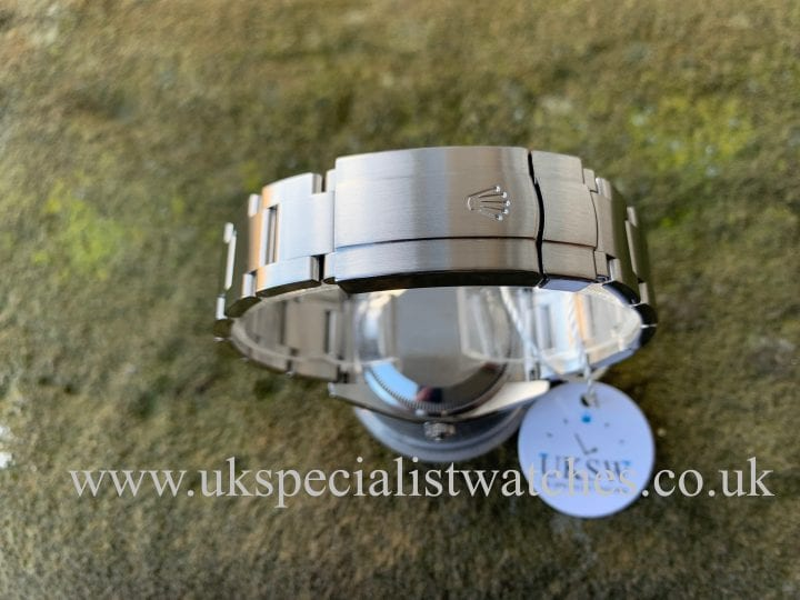 ROLEX OYSTER PERPETUAL AIR-KING – SILVER DIAL – 114200