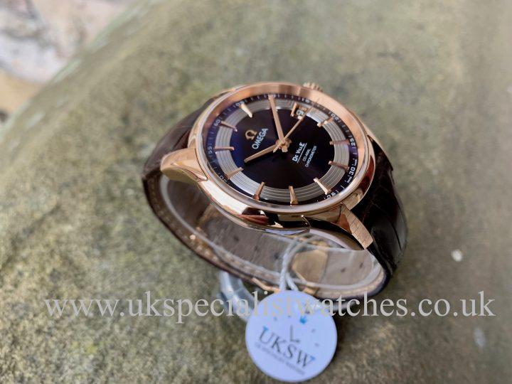 Omega De Ville HourVision - 18ct Rose Gold - 43163412113001