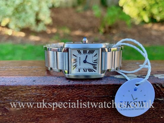 CARTIER TANK FRANCAISE LADIES – STAINLESS STEEL – 2384