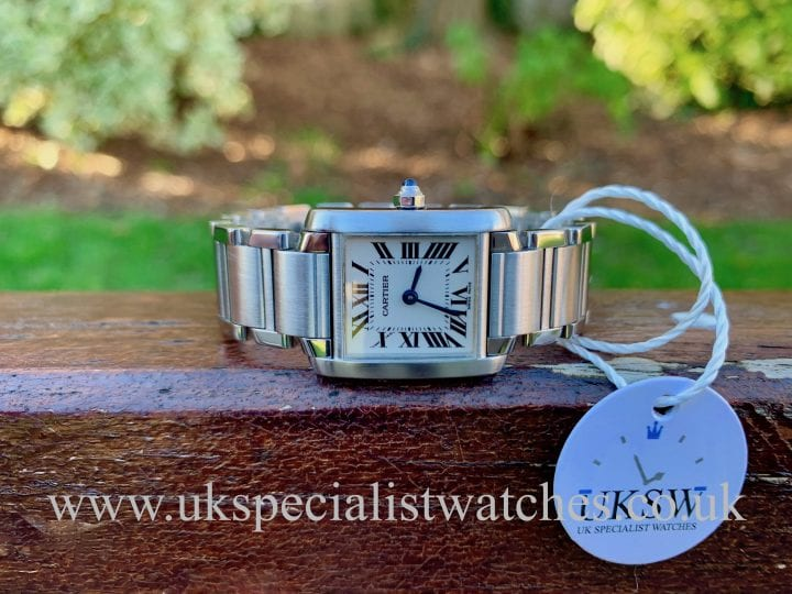 CARTIER TANK FRANCAISE LADIES - STAINLESS STEEL - 2384