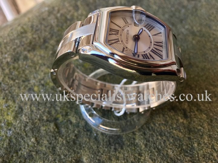 CARTIER ROADSTER LADIES STEEL – SILVER DIAL – W62016V3CARTIER ROADSTER LADIES STEEL – SILVER DIAL – W62016V3