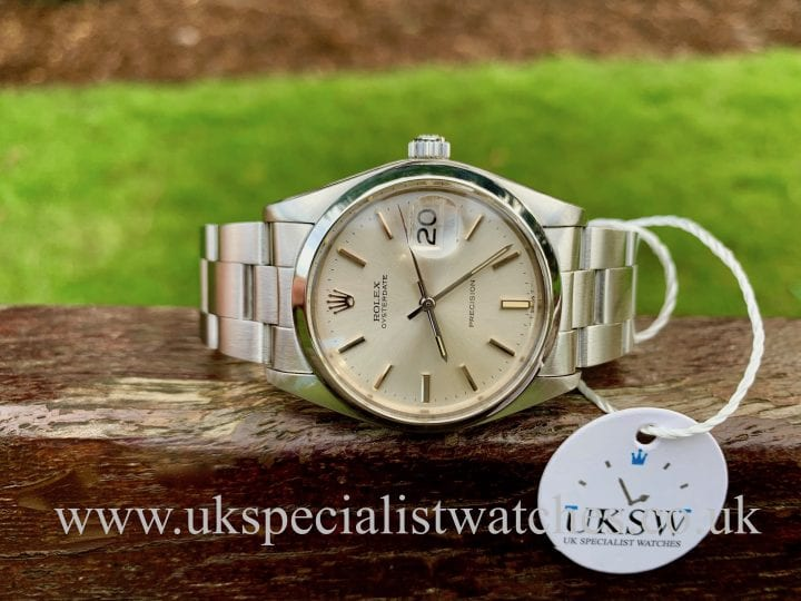 ROLEX OYSTERDATE PRECISION VINTAGE 1980 – STAINLESS STEEL 6694