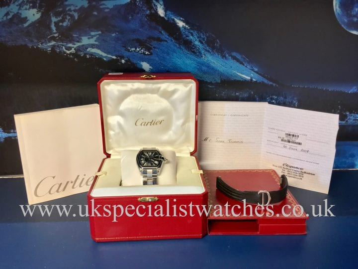 CARTIER ROADSTER GENTS - STAINLESS STEEL – 2510 - W62041V3