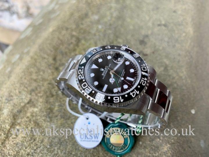 Rolex GMT Master II Ceramic - 116710LN - NEW 2019 DISCONTINUED