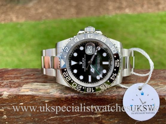 Rolex GMT Master II Ceramic - 116710LN - NEW 2019 DISCONTINUED