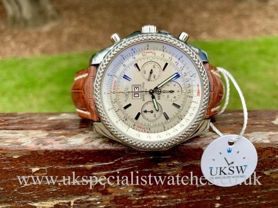BREITLING BENTLEY 6.75 CHRONOGRAPH - STAINLESS STEEL – A44362