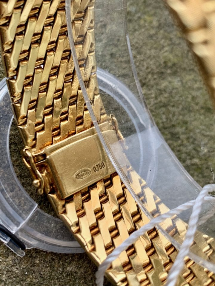 ROLEX BRACELET WATCH - 18CT GOLD - VINTAGE 1960s
