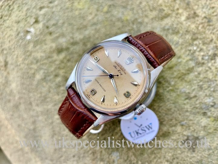 ROLEX AIR KING 5500 - HERRINGBONE SECTOR DIAL – VINTAGE 1958ROLEX AIR KING 5500 - HERRINGBONE SECTOR DIAL – VINTAGE 1958