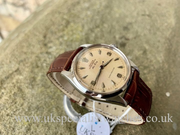 ROLEX AIR KING 5500 - HERRINGBONE SECTOR DIAL – VINTAGE 1958
