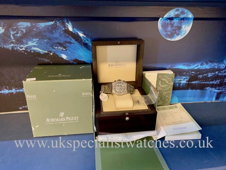 AUDEMARS PIGUET ROYAL OAK OFFSHORE – 25721ST.OO.1000ST.08.A