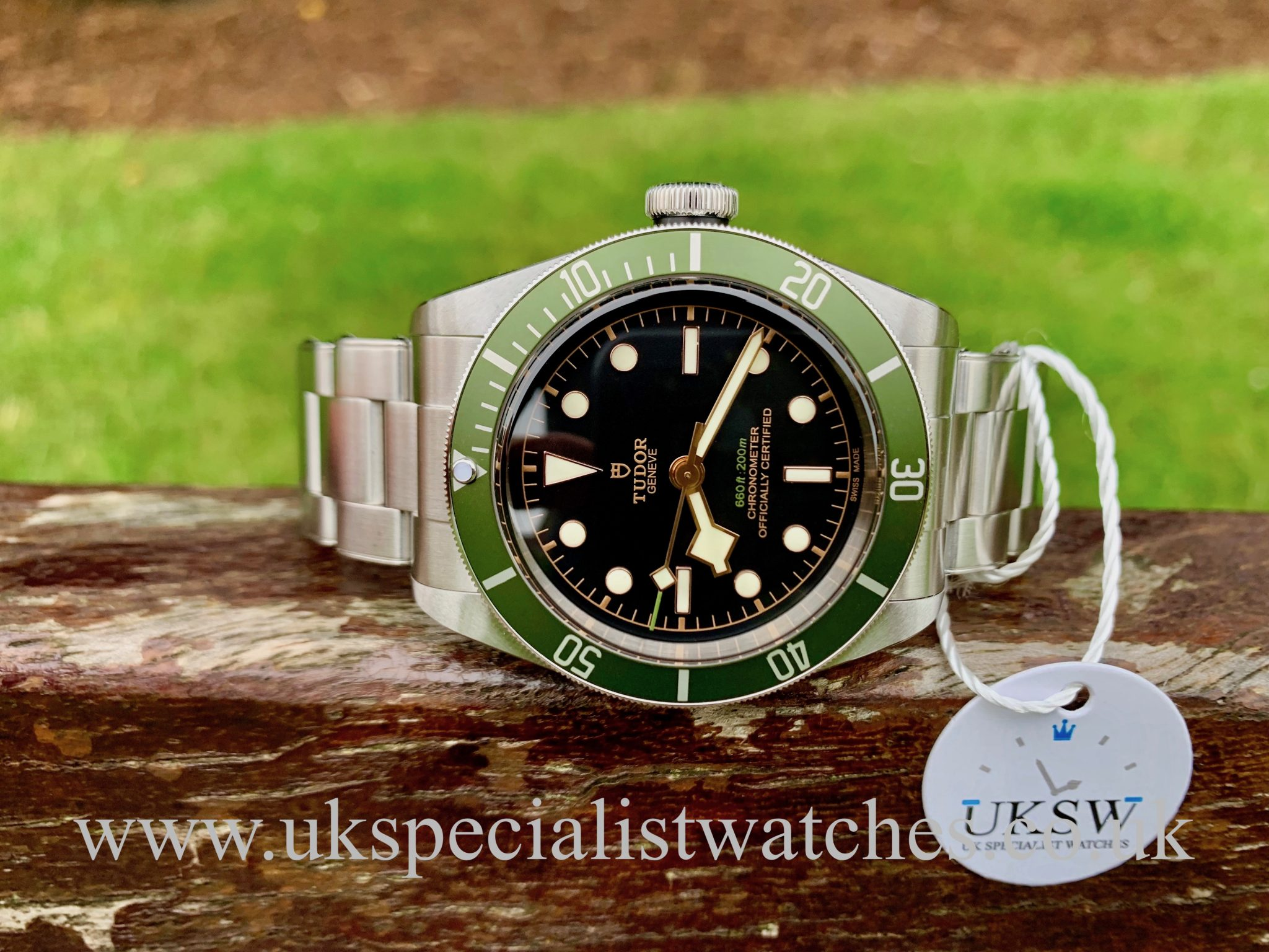 TUDOR BLACK BAY HARRODS EDITION – 79230G – UNWORN