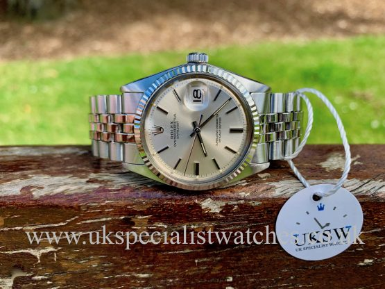 ROLEX DATEJUST 1601 – PIE PAN DIAL – STEEL – VINTAGE 1971