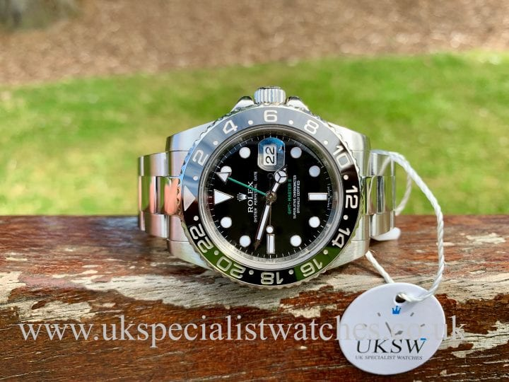 Rolex GMT Master II -Steel - Ceramic Bezel - 116710LN - Z Serial