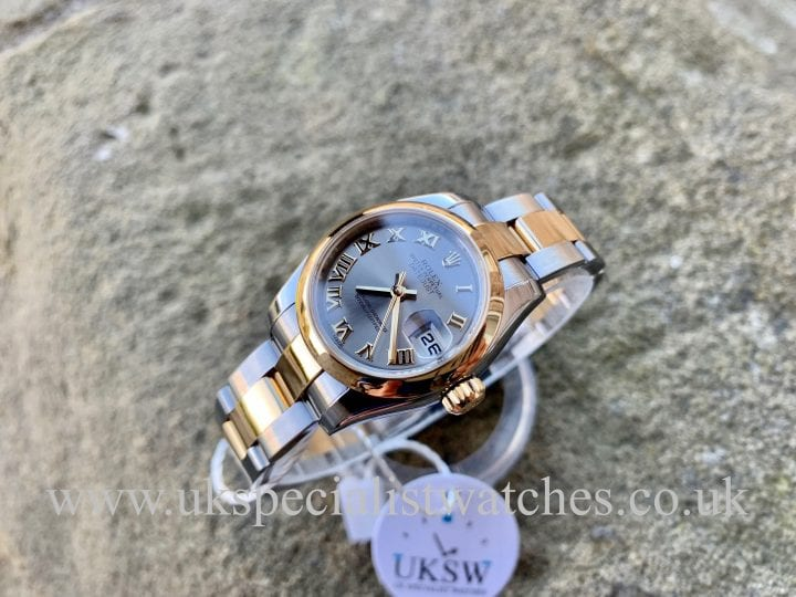 ROLEX LADY-DATEJUST – STEEL &18CT YELLOW GOLD – 179163