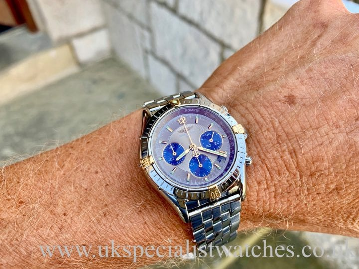 BREITLING CHRONO COCKPIT – STEEL & 18CT GOLD – B30012