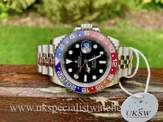 ROLEX GMT-MASTER II PEPSI – 126710BLRO – UNWORN STICKERS / NEW