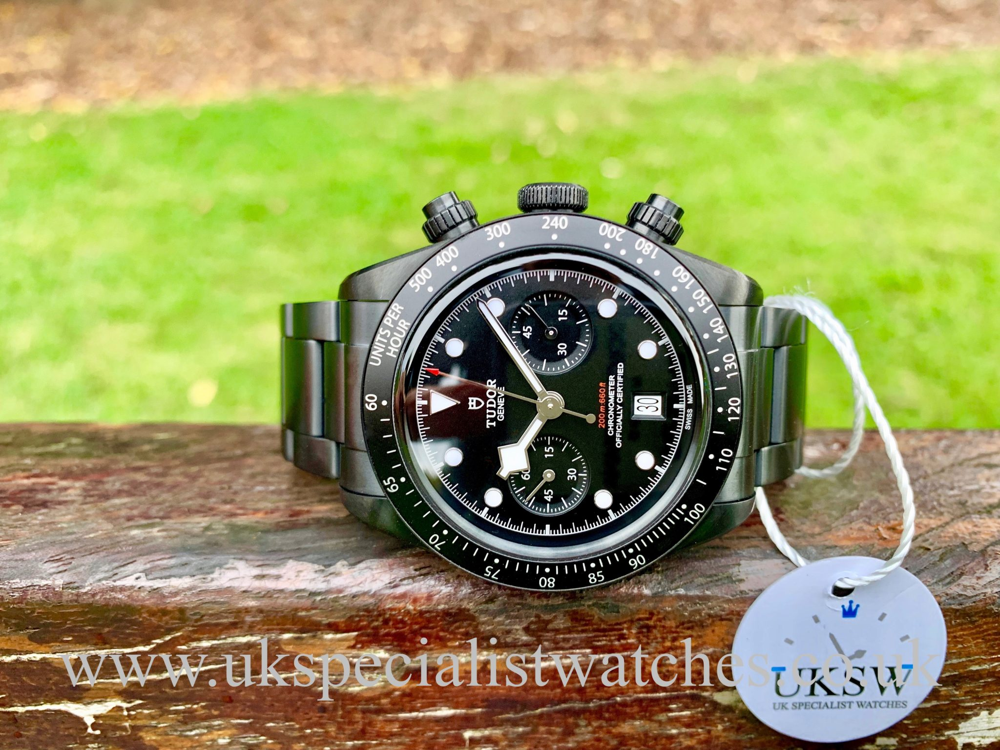 TUDOR BLACK BAY DARK - ALL BLACKS LTD EDITION - 79360DK - NEW 2019
