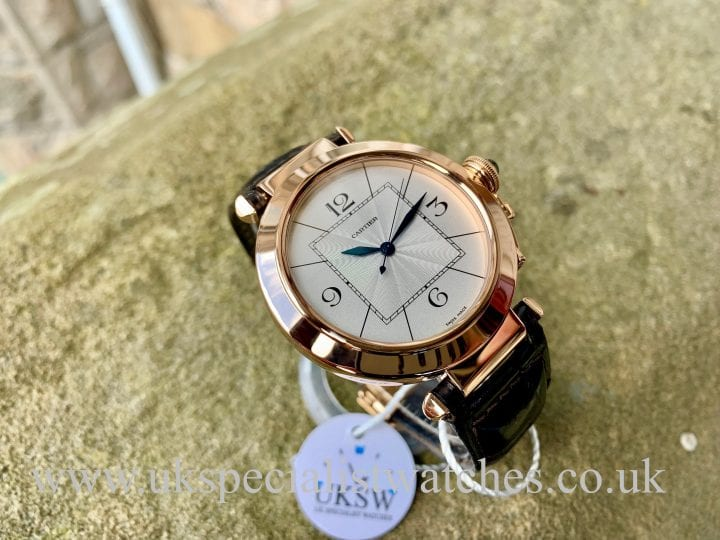 CARTIER PASHA LARGE 42MM – 18CT ROSE GOLD – W3019351