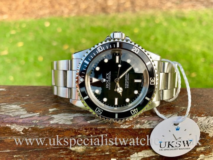 ROLEX SUBMARINER 5513 – SWISS T<25 DIAL - FULL SET – VINTAGE 1988