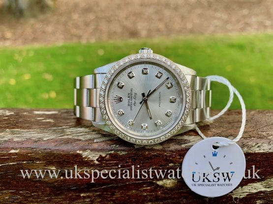 ROLEX OYSTER PERPETUAL AIR-KING – DIAMOND SET – 14000