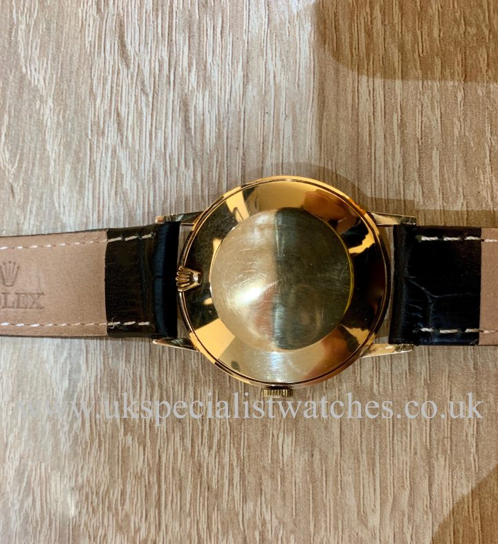 ROLEX PRECISION DRESS WATCH – 9CT GOLD – VINTAGE 1958ROLEX PRECISION DRESS WATCH – 9CT GOLD – VINTAGE 1958