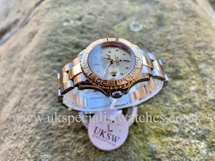 ROLEX YACHT-MASTER LADIES - STEEL & 18ct GOLD - 169623