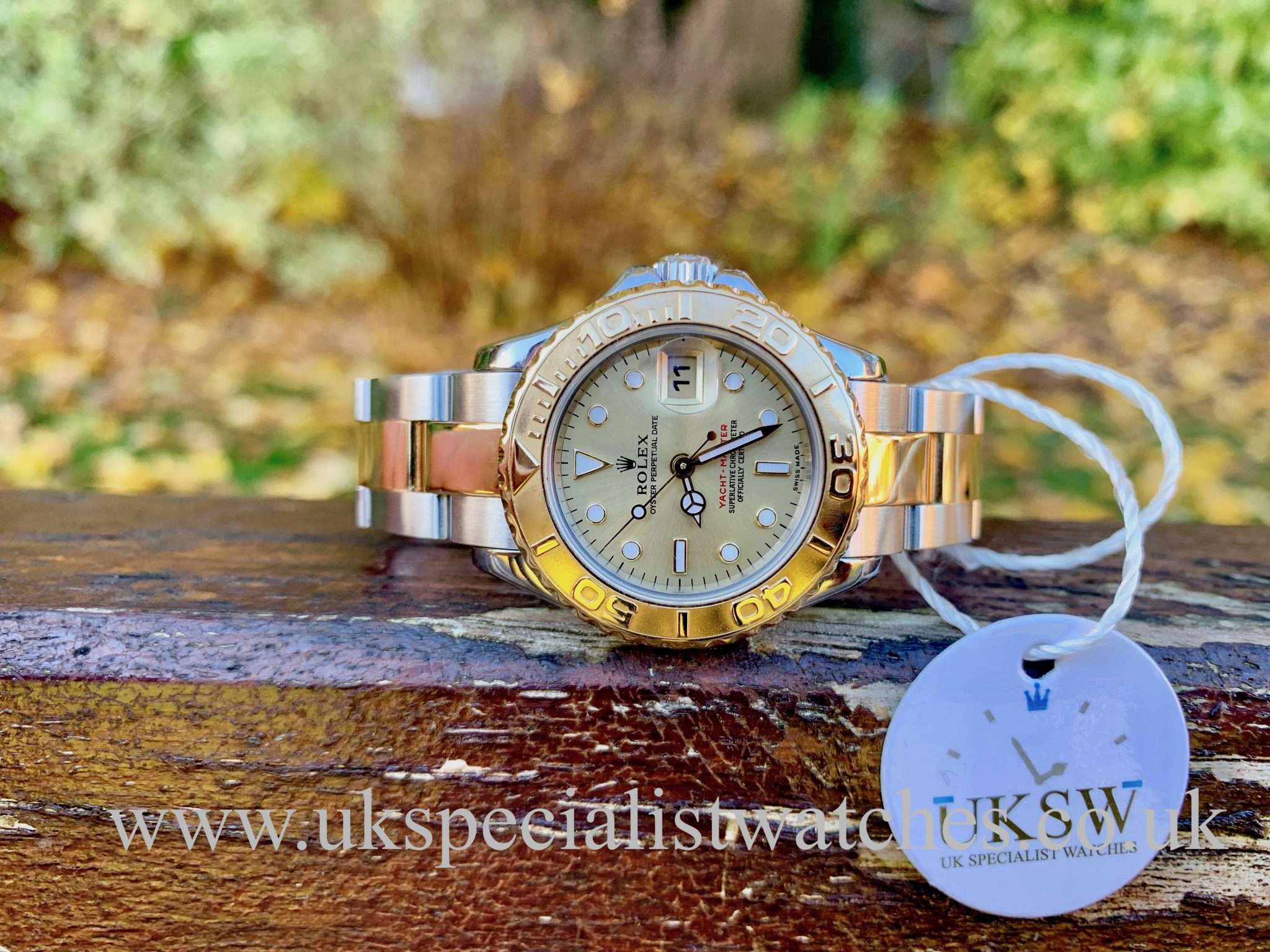 ROLEX YACHT-MASTER LADIES - STEEL & 18ct GOLD - 169623