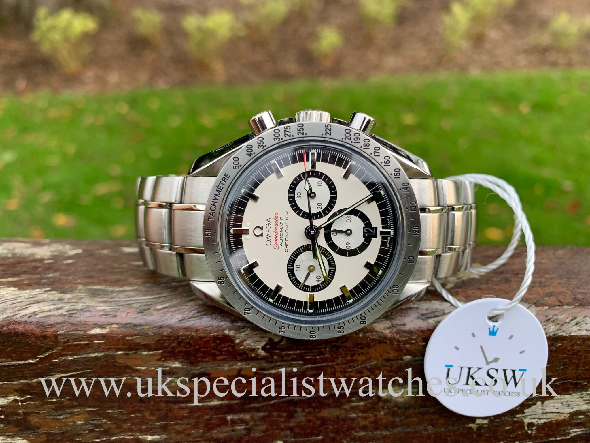 OMEGA SPEEDMASTER SCHUMACHER LEGEND – STAINLESS STEEL – 3506.31.00