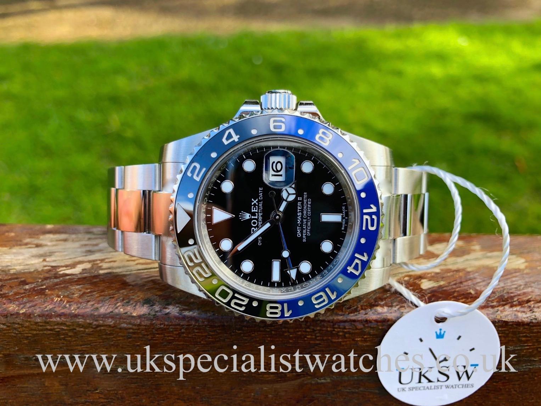 Rolex GMT-Master 116710BLNR Blue Black Batman – Bruiser – 2018