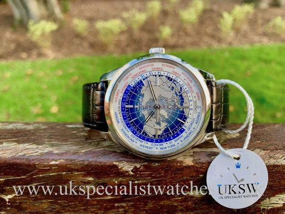 Jaeger-LeCoultre Geophysic Universal Time – Steel  –  8108420