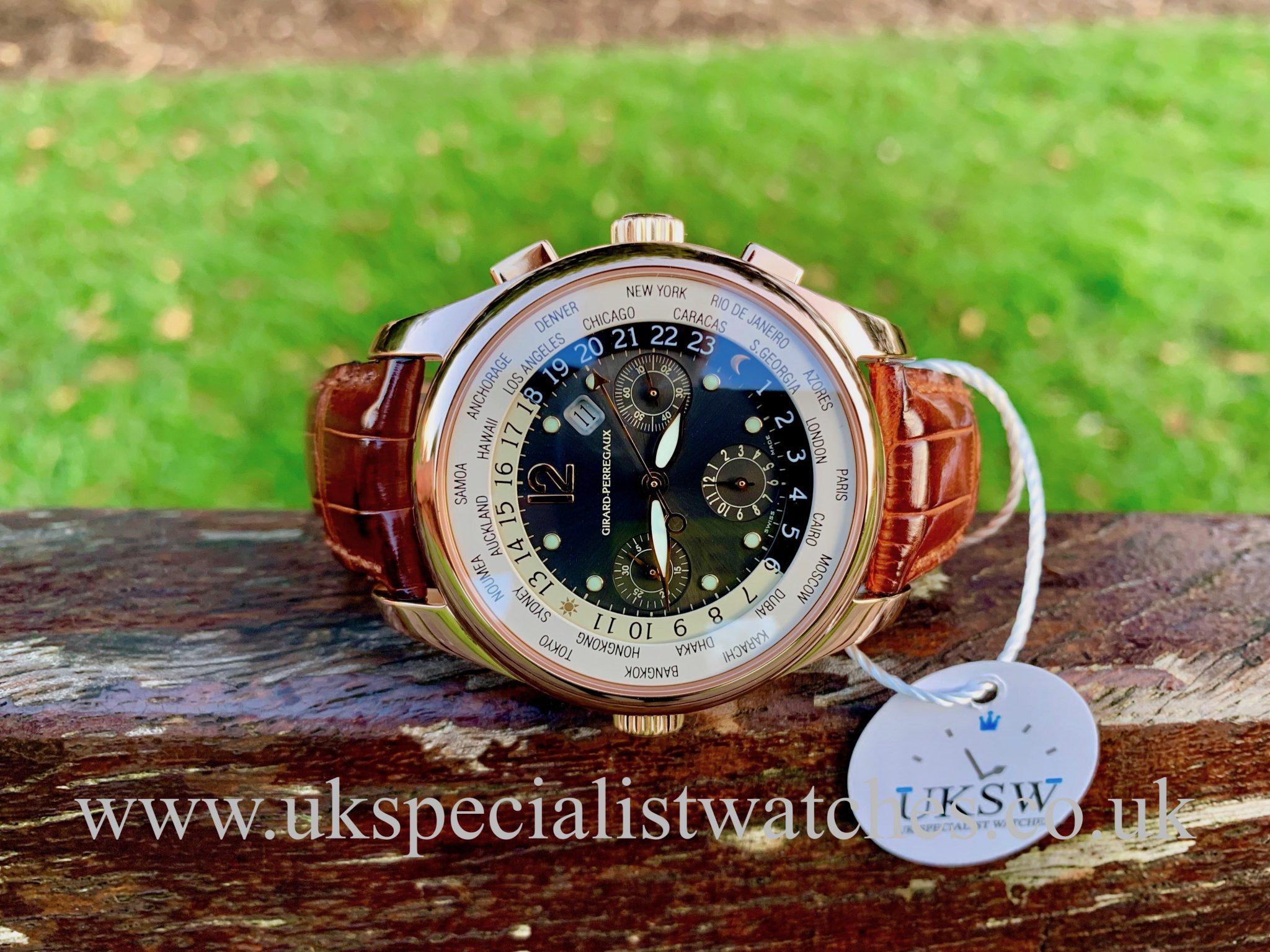 Girard Perregaux WW.TC World Time Chronograph - 18ct Rose Gold - 49800