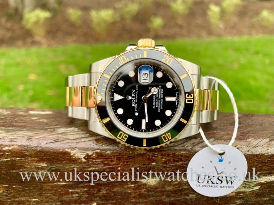 ROLEX SUBMARINER DATE - STEEL & 18CT GOLD – 116613LN