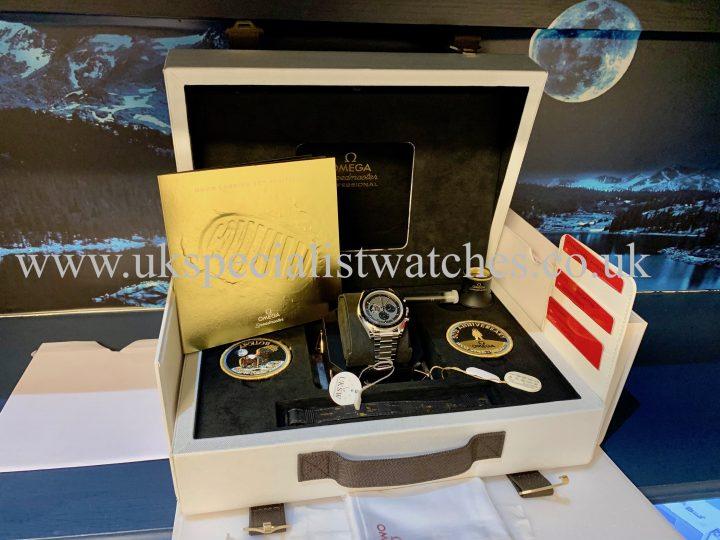 Omega Speedmaster Apollo 11 - 50th Anniversary - 310.20.42.50.01.001 - NEW / UNWORN