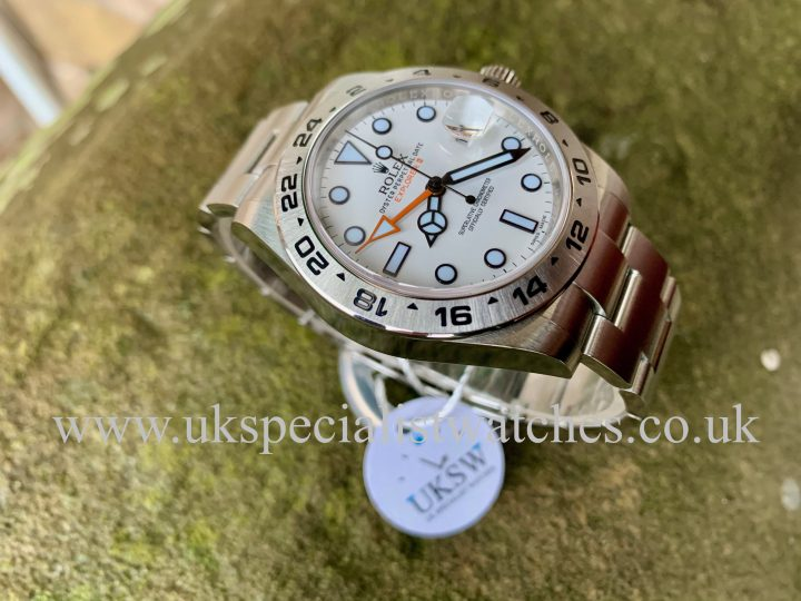 Rolex Explorer II White Dial 42mm – Stainless Steel – 216570