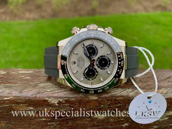 ROLEX DAYTONA OYSTERFLEX 18CT WHITE GOLD – 116519LN - NEW UNUSED