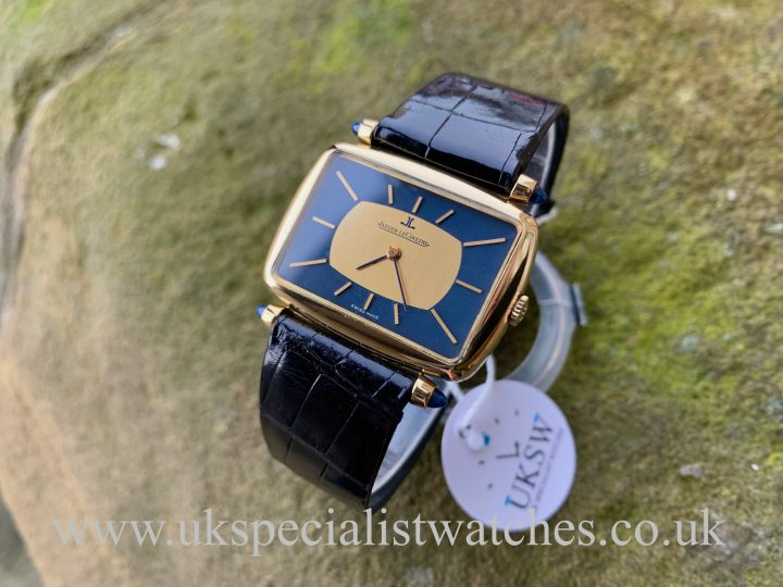 Jaeger LeCoultre 18ct Yellow Gold - Gents Dress Watch - Vintage 1972