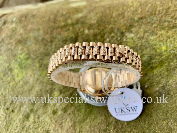 LADY-DATEJUST PRESIDENT 18CT GOLD- DIAMOND SET – 6917