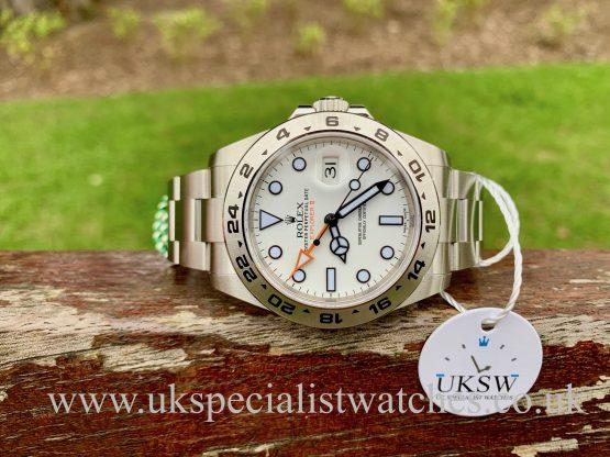 Rolex Explorer II White Dial 42mm – 216570 - NEW UNWORN