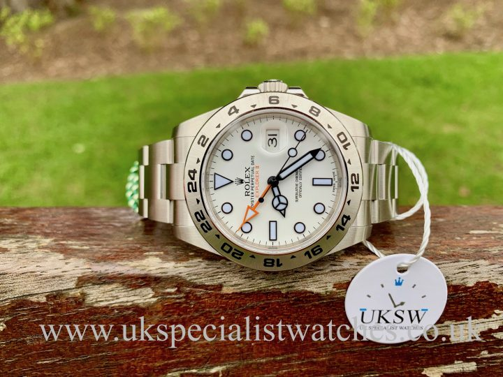Rolex Explorer II White Dial 42mm – 216570 - NEW UNWORN