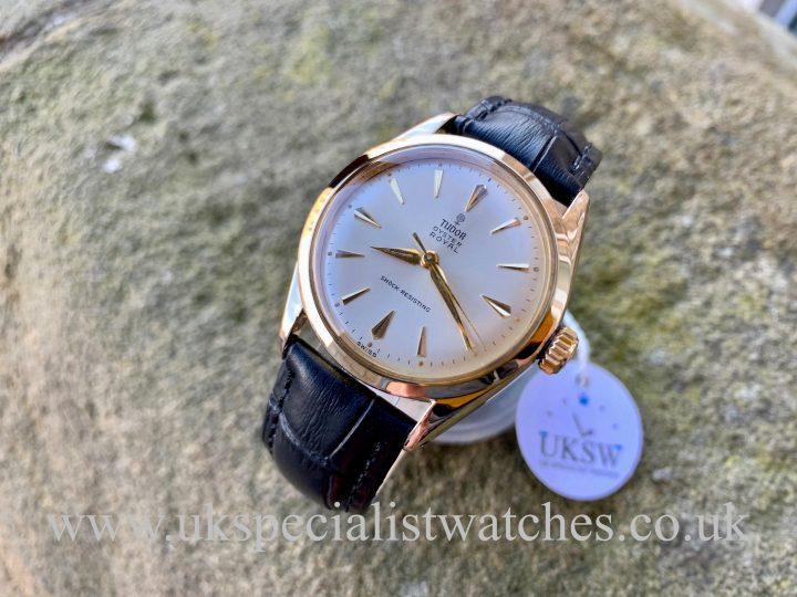 Tudor OYSTER ROYAL 7934 GOLD – VINTAGE 1961