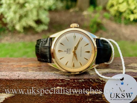 Tudor OYSTER ROYAL 7934 GOLD – VINTAGE 1961