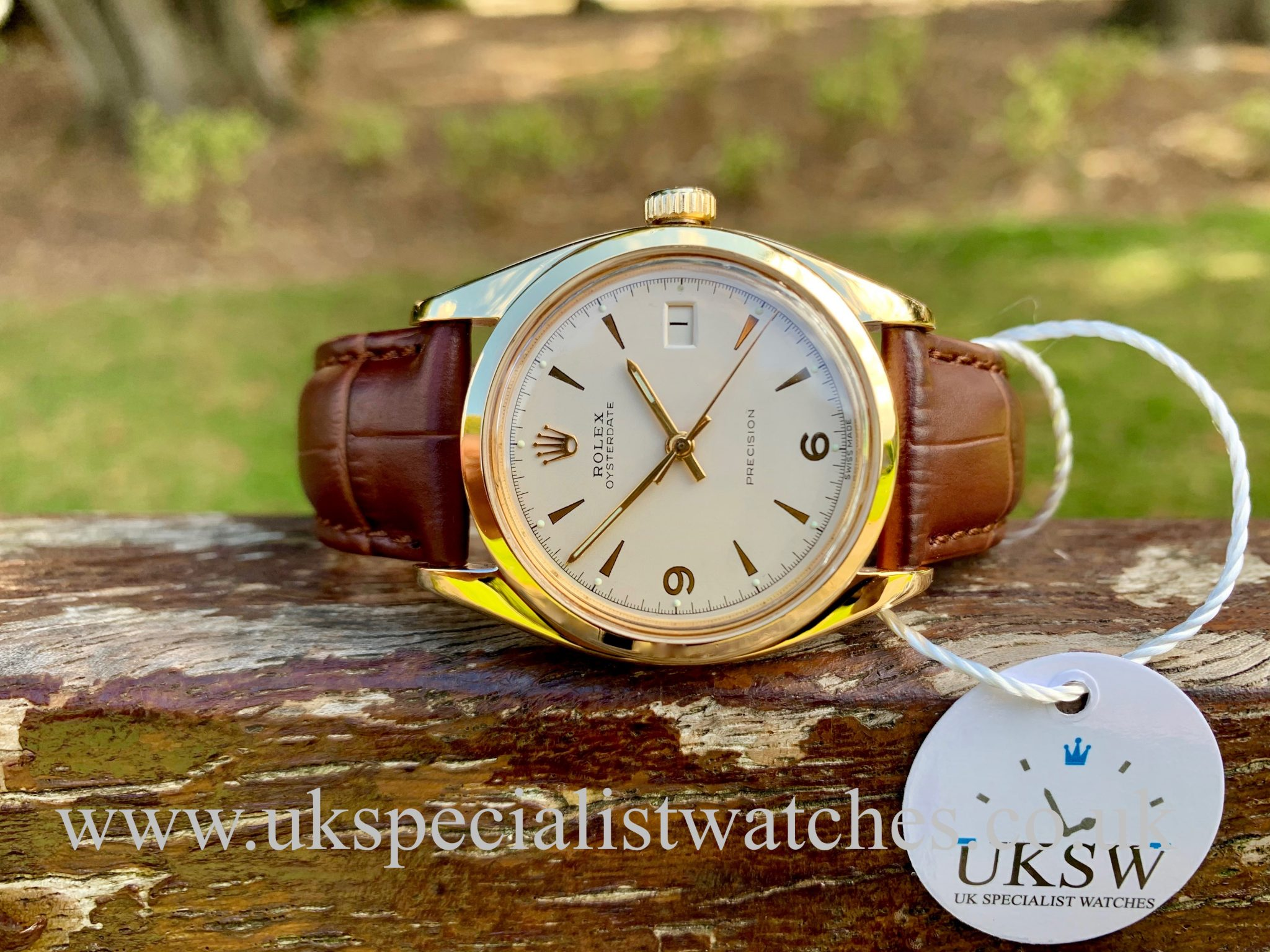 ROLEX OYSTERDATE 6494 - GOLD CAPPED – VINTAGE 1956