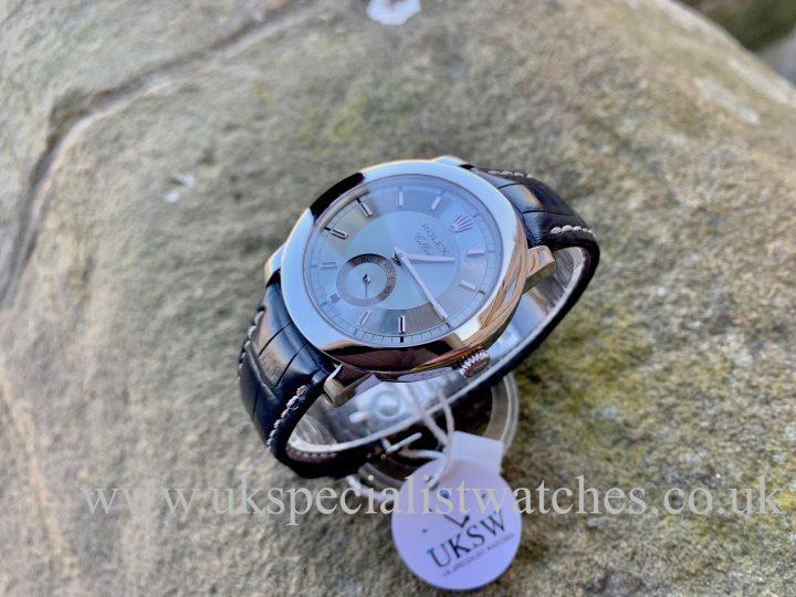 Rolex Cellini 5241/6 - Platinum - 38mm - Ice Blue Dial