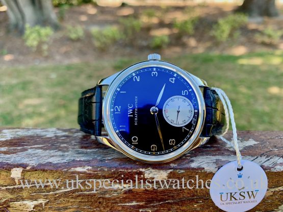 IWC PORTUGUESE HAND WOUND – STAINLESS STEEL 44MM –  IW545404