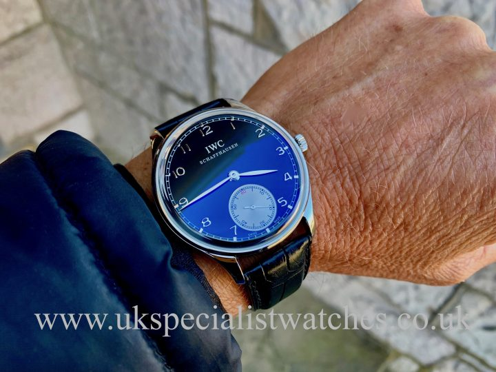 IWC PORTUGUESE HAND WOUND - STAINLESS STEEL 44MM - IW545404